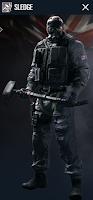 Portrait of Sledge - Rainbow Six Siege Operator