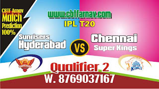 DC vs CSK IPL Prediction Today Qualifier 2 Match IPL Match Prediction Today Who Will Win