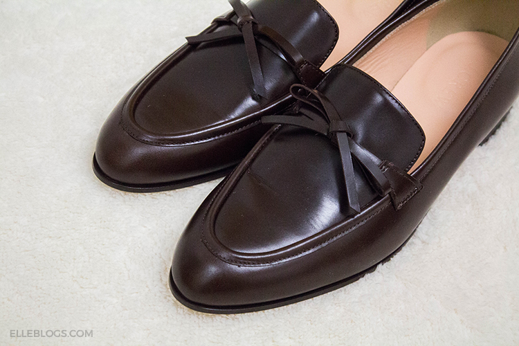 99ccb7429e6 Review  J.Crew Academy Loafers in Leather (Now On Sale) - Elle Blogs