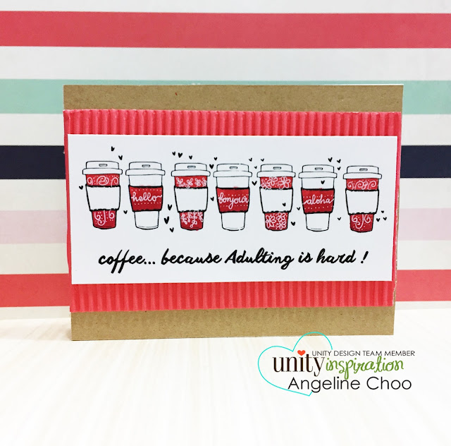ScrappyScrappy: [NEW VIDEOS] Sneak Peeks & KOM with Unity Stamp #scrappyscrappy #unitystampco #card #cardmaking #papercraft #youtube #quicktipvideo