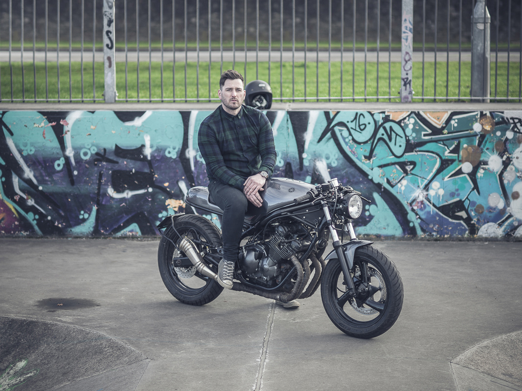 Take the Red Pill - JM Customs XJ600 | Return of the Cafe ...