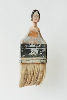isadora duncan-pennelli-rebecca szeto-Paintbrush Portraits-scultura-la santa furiosa