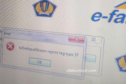 Setting Ulang Sertifikat Elektronik Pajak Error toDerInputStream reject tag type 37