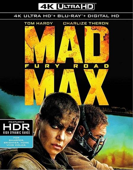 Mad Max Fury Road 4K (Mad Max: Furia en el Camino 4K) (2015) 2160p 4K UltraHD HDR BluRay REMUX 46GB mkv Dual Audio Dolby TrueHD ATMOS 7.1 ch