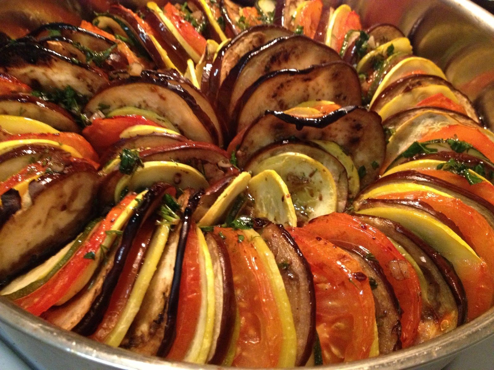 Only Metaphor >> The Walking Cookbook: Remy's Ratatouille