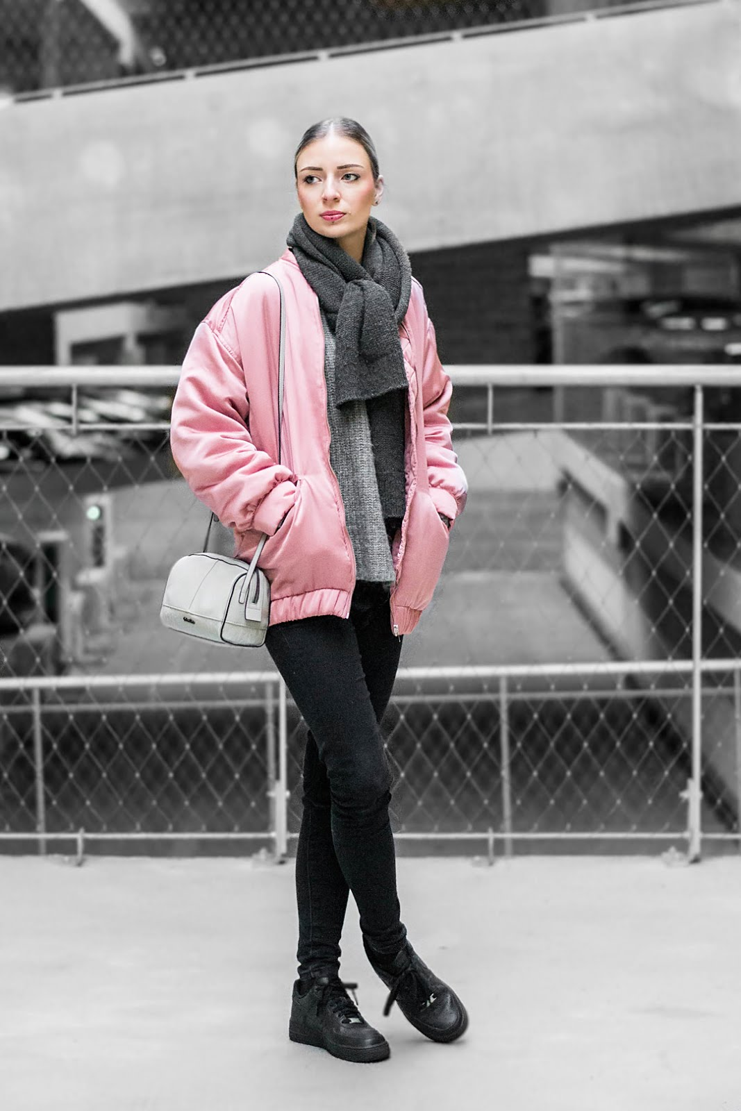 Mango, satin, pink, bomber jacket, cheap monday, calvin klein, bag