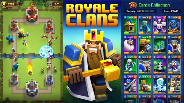 Royale Clans – Clash of Wars APK RC MOD Free Download