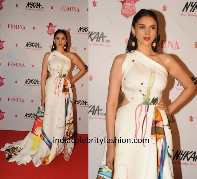 Aditi Rao Hydari in Gauri and Nainika Gown