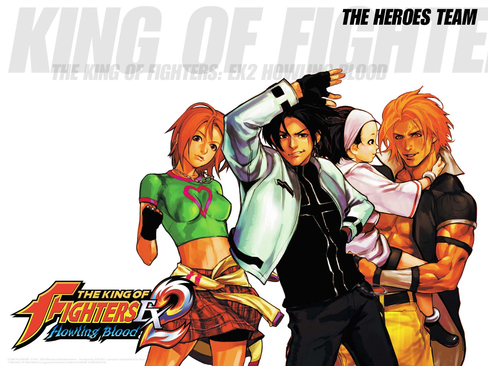 THE KING OF FIGHTERS EX2 HOWLING BLOOD WALLPAPERS