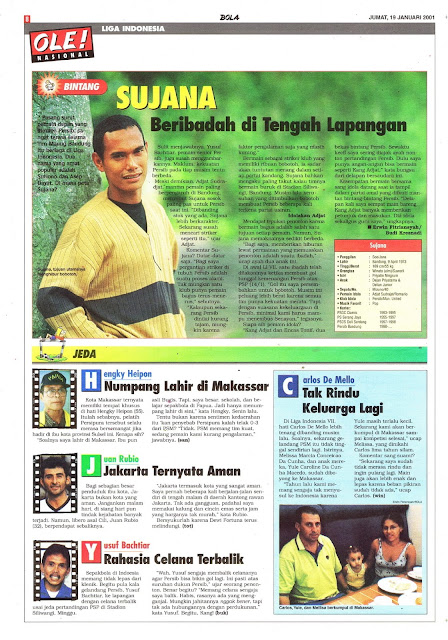 PROFIL BINTANG LIGA INDONESIA SUJANA