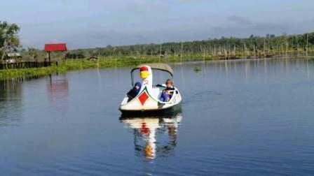 wisata danau bahinu banjarmasin