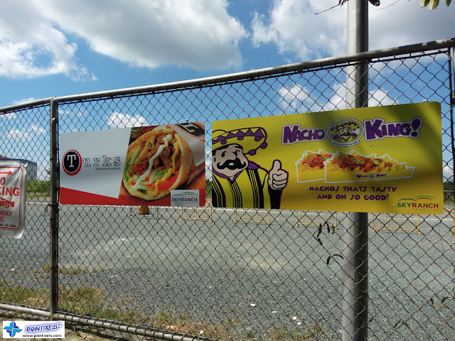 Outdoor Fence Signs - Nacho King & Turks