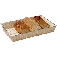Cos paine- cosuri paine- deptunghiular din rattan- produs profesional horeca- PRET