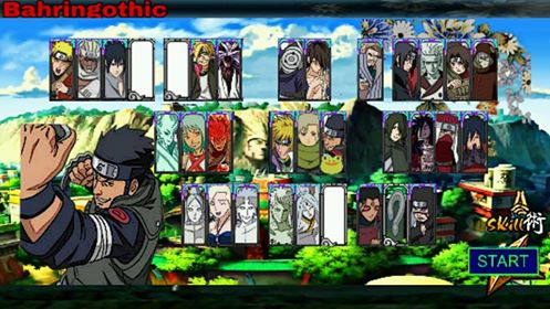 Download Naruto Senki MOD Alpha Full Character Apk Android Game Terbaru