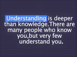 UNDERSTANDING OTHERS...moments of positivity