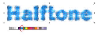Efek Halftone di CorelDRAW, efek halftone keren