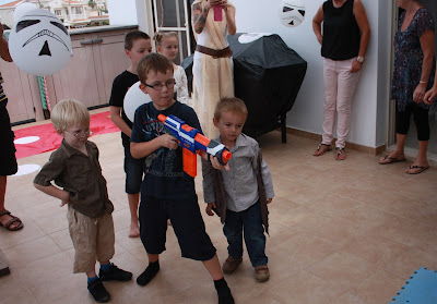 nerf gun party game