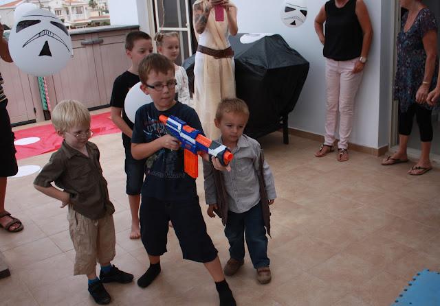 nerf gun party game