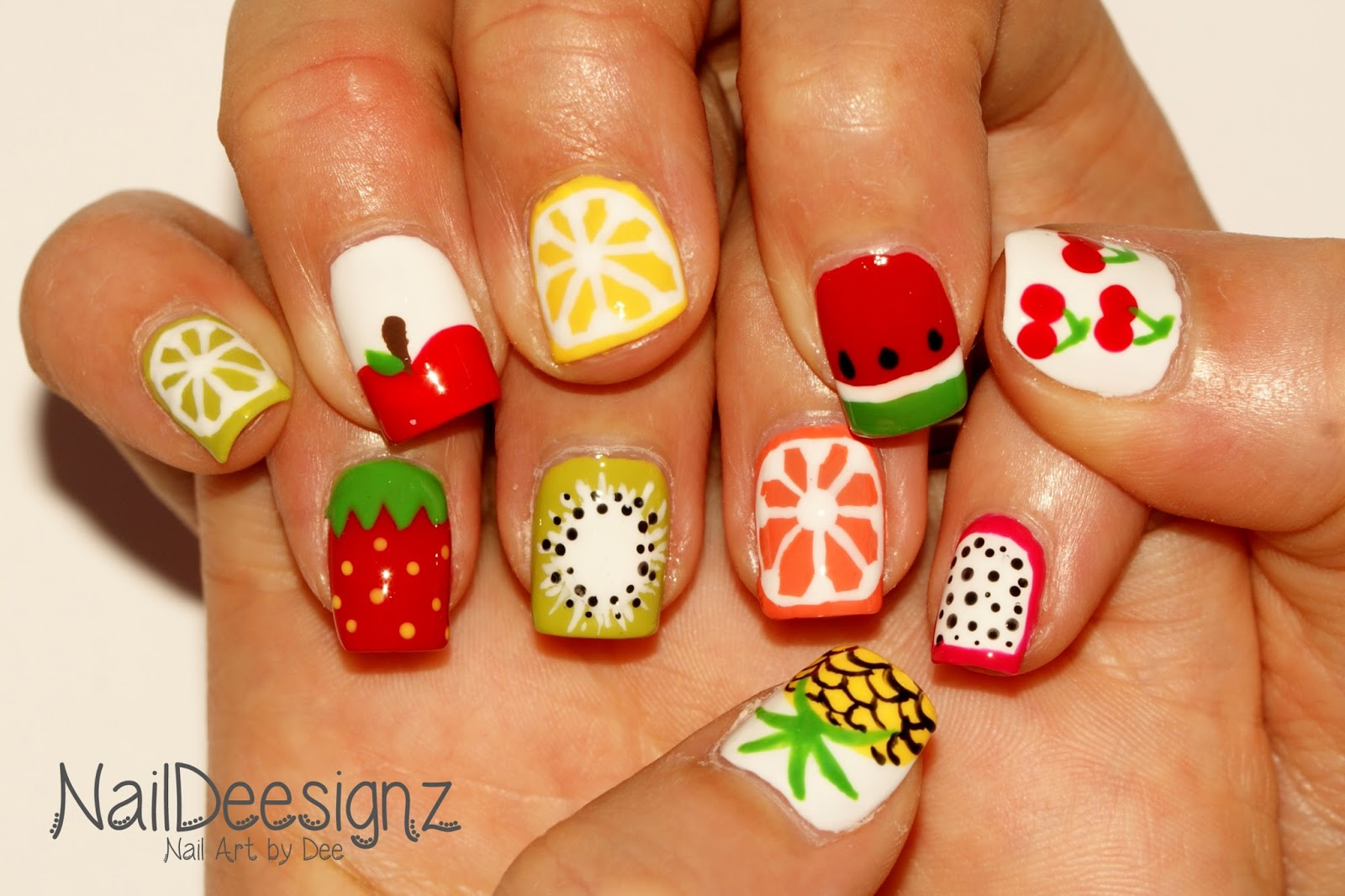 NailDeesignz: Fruit Nail Art
