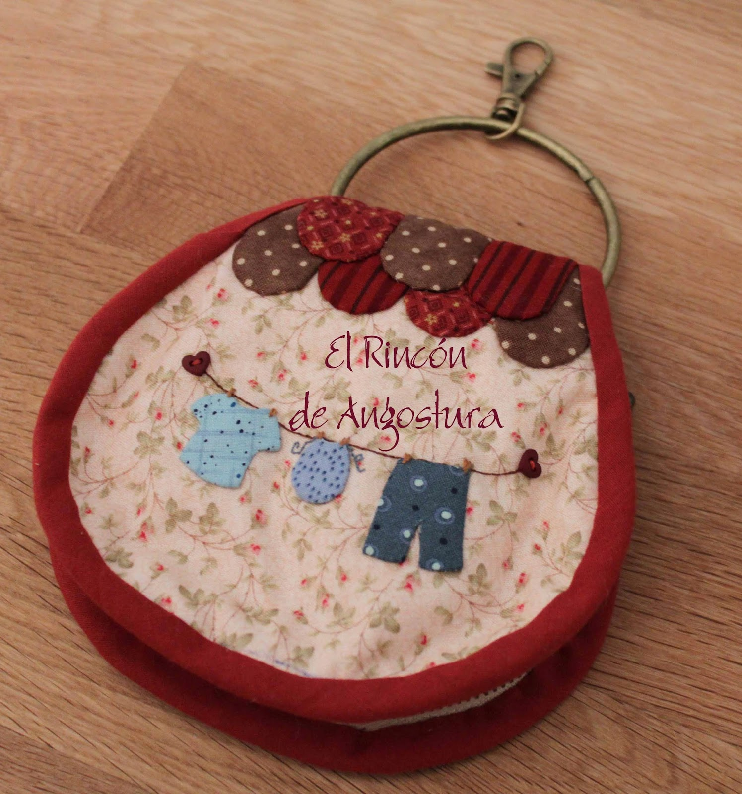 My sweet chubby aro llavero vintage - La casita del patchwork ...