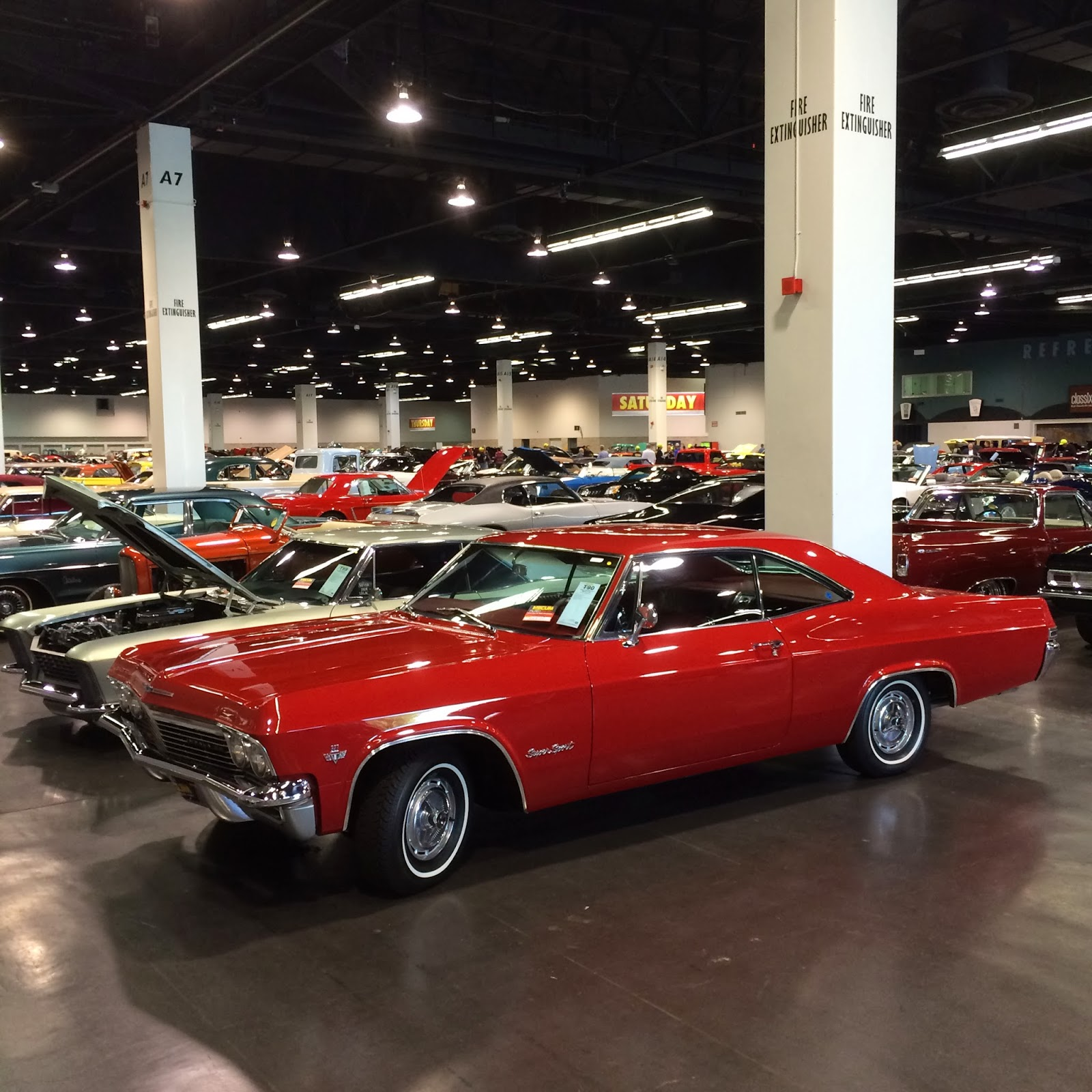 Covering Classic Cars : Photos From The 2013 Mecum Auto
