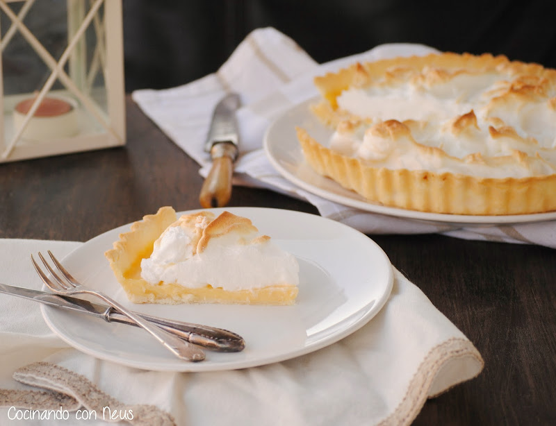 Lemon pie o tarta de limón