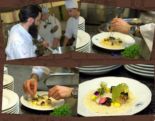 Chef Sokol Xibri  un fiore nel piatto 2017