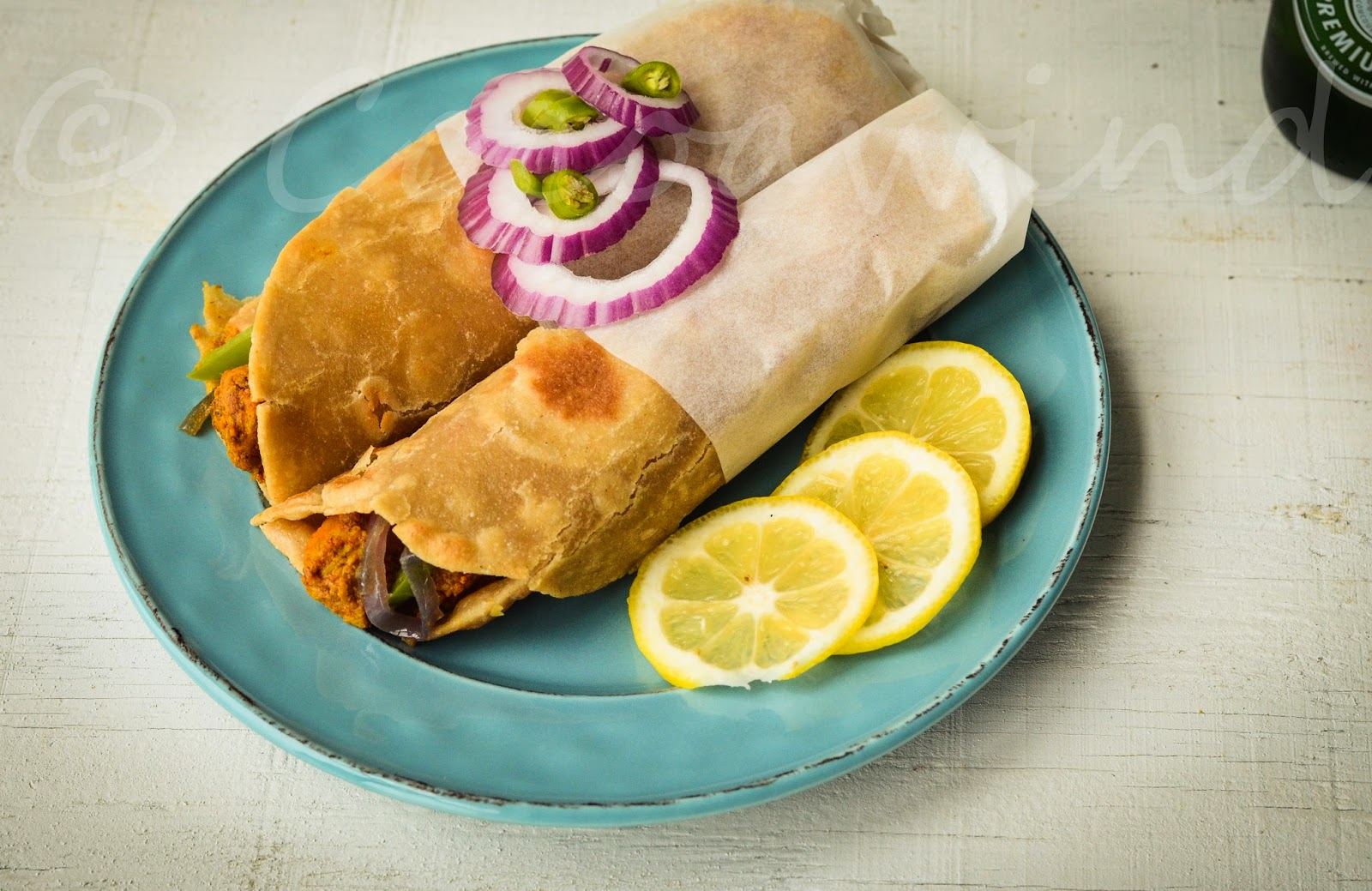 Pritha's Chicken Roll