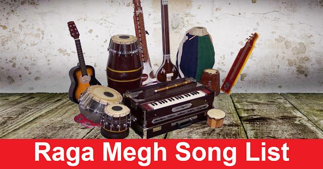 Raga Megh Song List