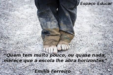Frases E Citações De Emília Ferreiro Espaço Educar