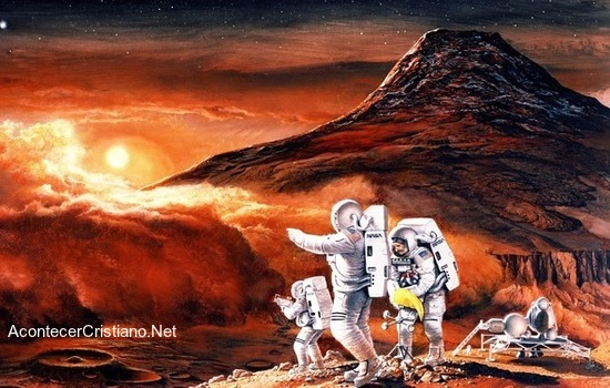 Escape para vivir en Marte