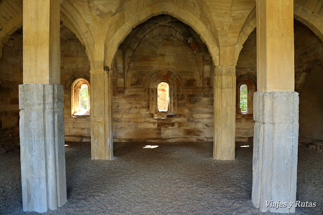 Sala capitular, Monasterio de Moreruela