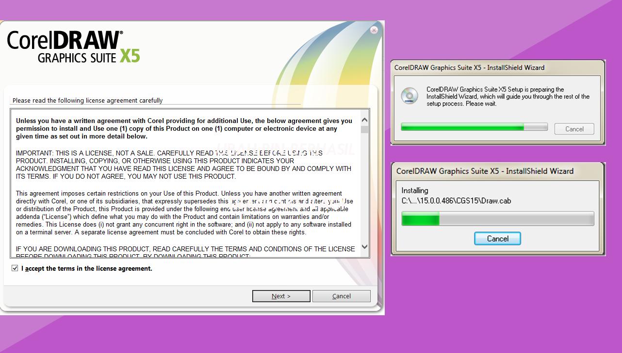Cara Mengatasi Tidak Bisa Install Corel Draw X4 , X5 Di Windows 10