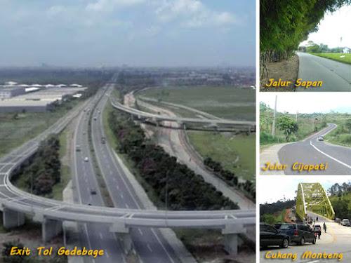 Jalur alternatif Mudik 2018 Bandung - Garut