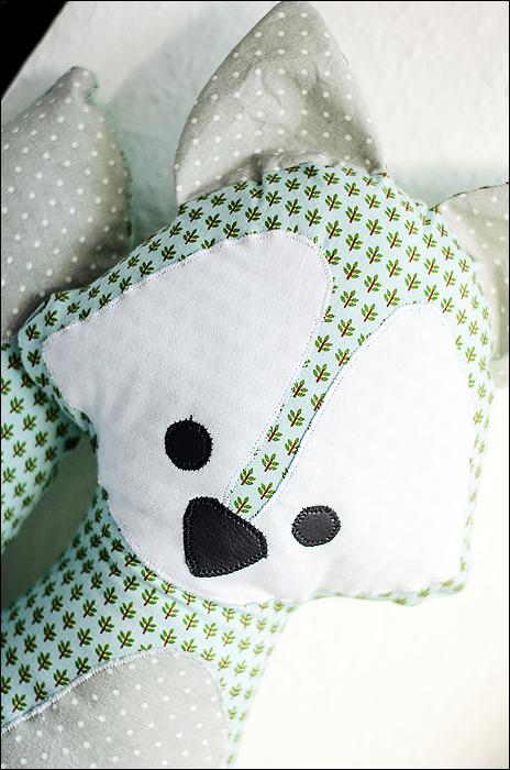Sewing, Nähen, Fox, Fuchs, Pattern