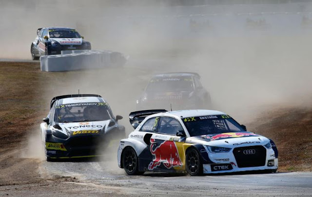 2016 most recent World Rallycross why Mattias Ekstrom is snared