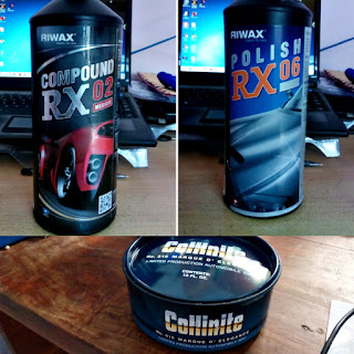 Riwax RX02 Riwax RX06 Collinite 915