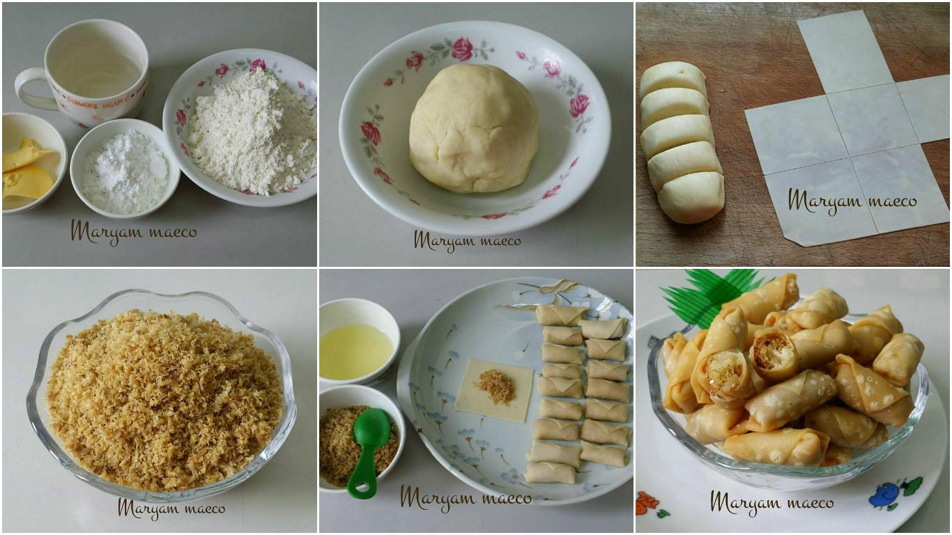 Resep Kue Jadul Tradisional: Resep Sumpia Abon By Maryam Maeco. Camilan Jadul Yang