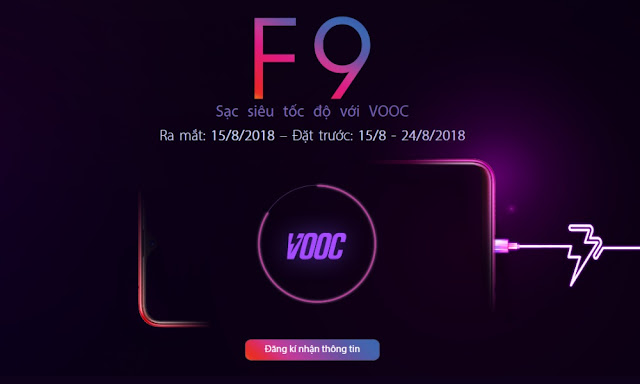 Kelebihan Spesifikasi Flash Charge VOOC Milik OPPO F9