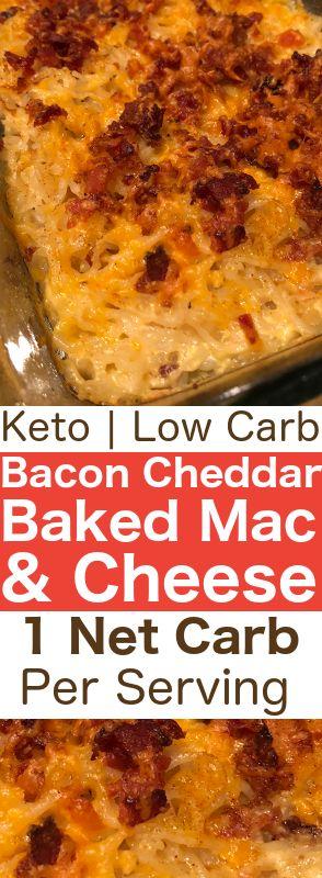 BAKED KETO MAC & CHEESE