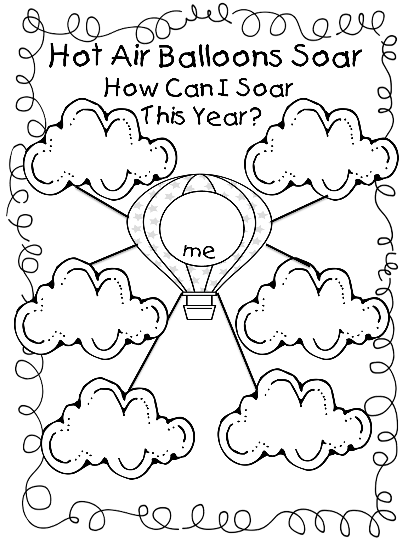 Workbooks ox cart man worksheets : Hot Air Balloon Unit! | First Grade Wow | Bloglovin'