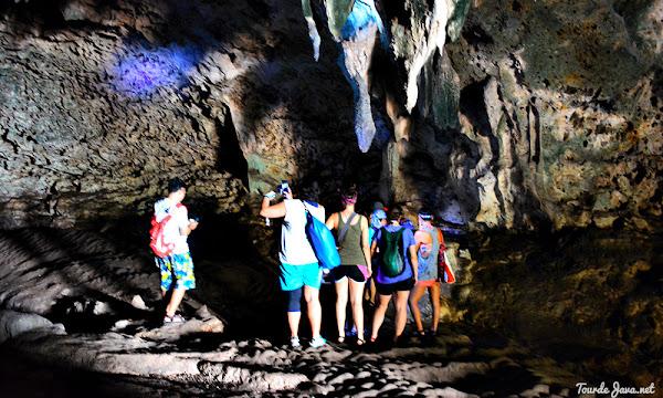 gua-gua karst di taman wisata alam pangandaran