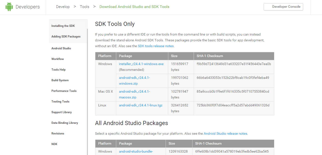Image result for android sdk tool
