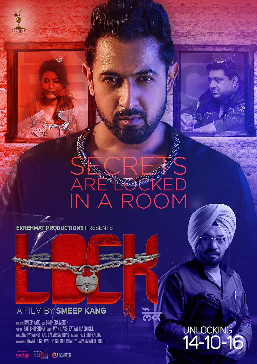 Lock (2016) Punjabi 1CD DVDScrRip Xvid Mp3 693mb