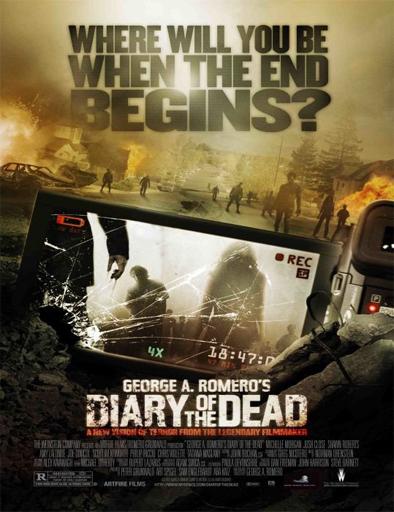 Ver El diario de los muertos (Diary of the Dead) (2007) Online