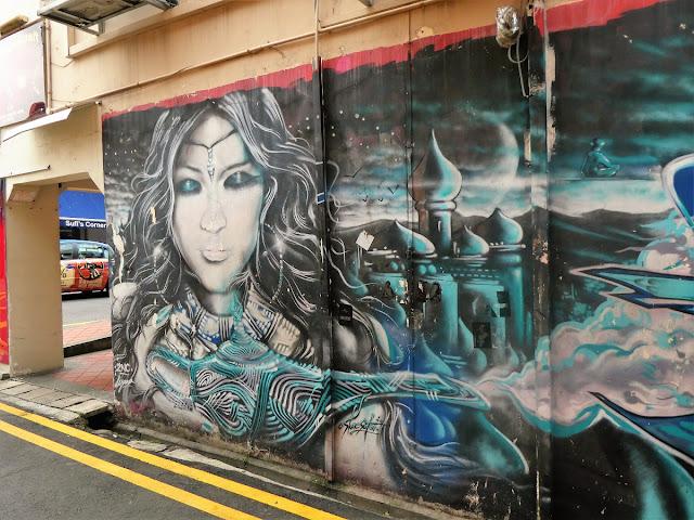 Street art i Singapore - City Lover Reser