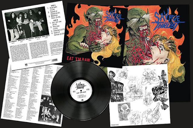 """Το τραγούδι των Savage Thrust """"Speed Or Bleed"""" από την επανακυκλοφορία του album """"Eat 'Em Raw"""""""