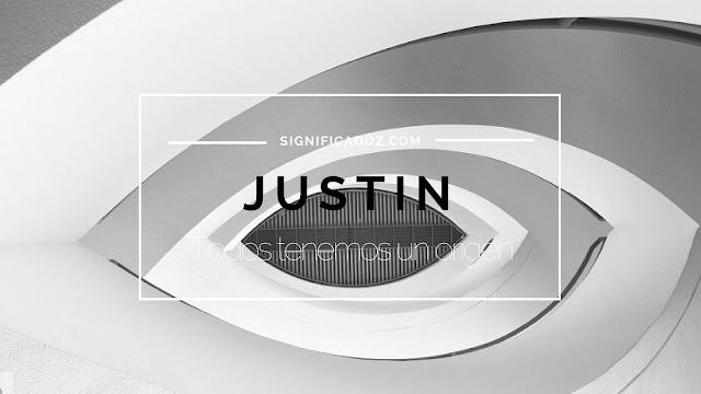 Significado y Origen del Nombre Justin ¿Que Significa?