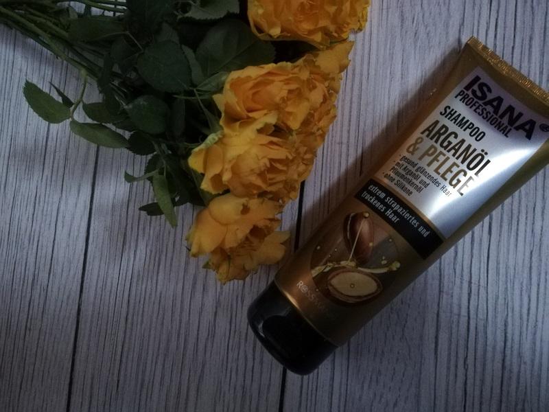 Isana Professional szampon z olejem arganowym