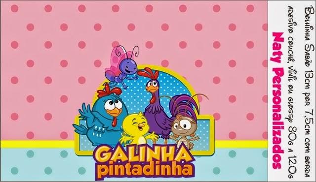 Kit para Fiesta de Gallinita Pintadita para Imprimir Gratis.